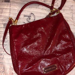 Gently used Red leather Marc Jacob shoulder bag